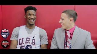 Jimmy Butler Interview | Team USA Mini-Camp 2015