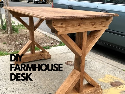 Amazing DIY Farmhouse Style Writing Desk | Ep. 3 Gallery