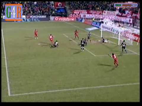 Panseraikos - Paok   1-1   Super League 2008-09  Greece