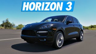 Forza Horizon 3 - Go Fast en Porsche Cayenne !