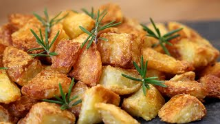 The Best Homemade Cruฑchy Roasted Potatoes | How Tasty Channel