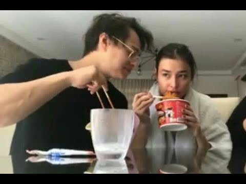 Watch: Spicy Noodle Challege with Lizquen (Liza Soberano & Enrique Gil)