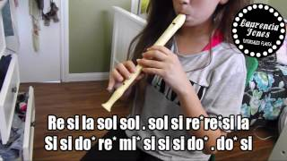 Yo tengo tu love - Sie7e en flauta dulce | Por Laurencia Jones