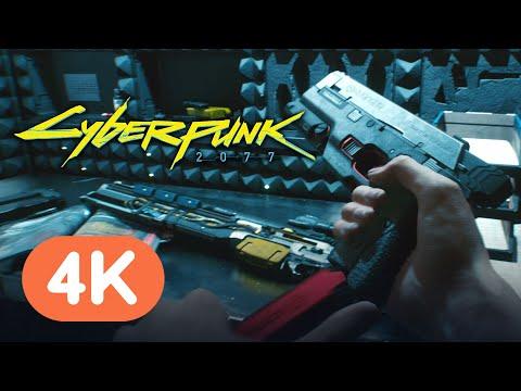 Cyberpunk 2077 — Official Weapons Trailer (4K)
