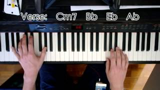 Elevation Worship - I Love You Lord Piano Tutorial w/ Chords Lyrics in description