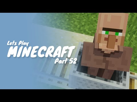 Minecraft :: Part 52 :: How To Breed and Transport Villagers