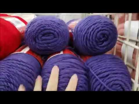 Yarn Shopping at Michaels - Yarn Shopping Haul | Bag-O-Day Crochet video