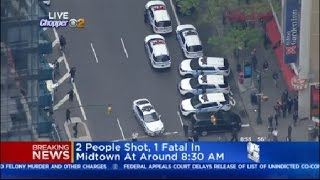 Police On Scene Of Midtown Shooting