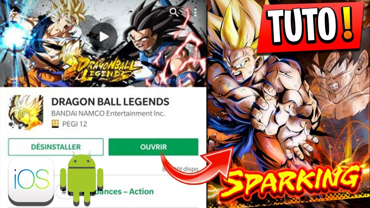 INSTALLER DRAGON BALL LEGENDS APK & TUTO COMMENT BIEN DEBUTER !  #Smartphone #Android