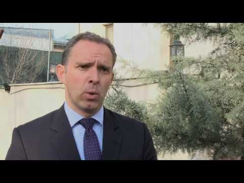 NATO in Afghanistan - NATO's Ambassador, Mark Sedwill, leaves his Kabul post (w/subtitles)