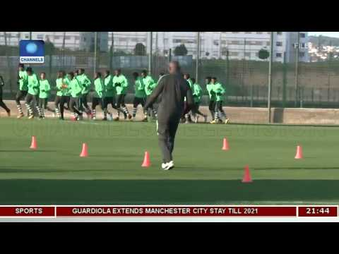 Super Eagles To Face Atletico Madrid | Sports Tonight |