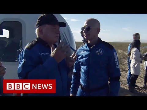 "Star Trek's William Shatner on ""unbelievable"" experience in Space - BBC News"