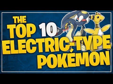 The Top 10 Electric-Type Pokémon W/ JayYTGamer!