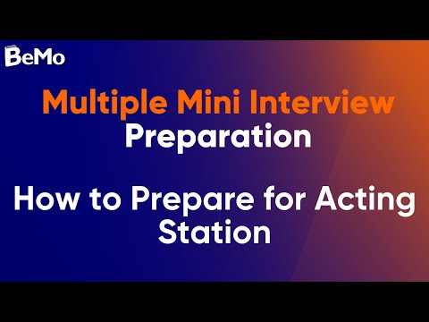 MMI Interview Preparation: Top Tips By a Former MMI Evaluator | BeMo