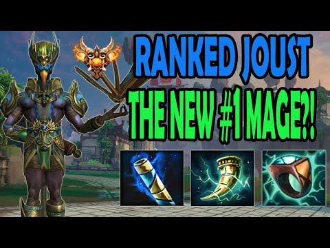 THE NEW BEST MAGE IN RANKED JOUST?!?! Ranked Joust - Smite