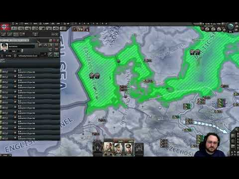 Hearts of Iron IV: Waking the Tiger -- Three Day War Multiplayer -- Day One