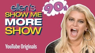 Jessica Simpson and tWitch Play with Toys from the '90s