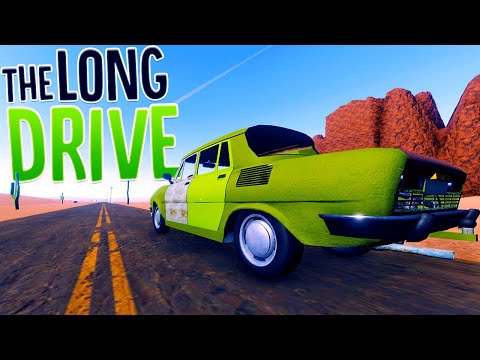 I Got Totally Lost Driving Alone Through The Desert - New Update! - The Long Drive Gameplay