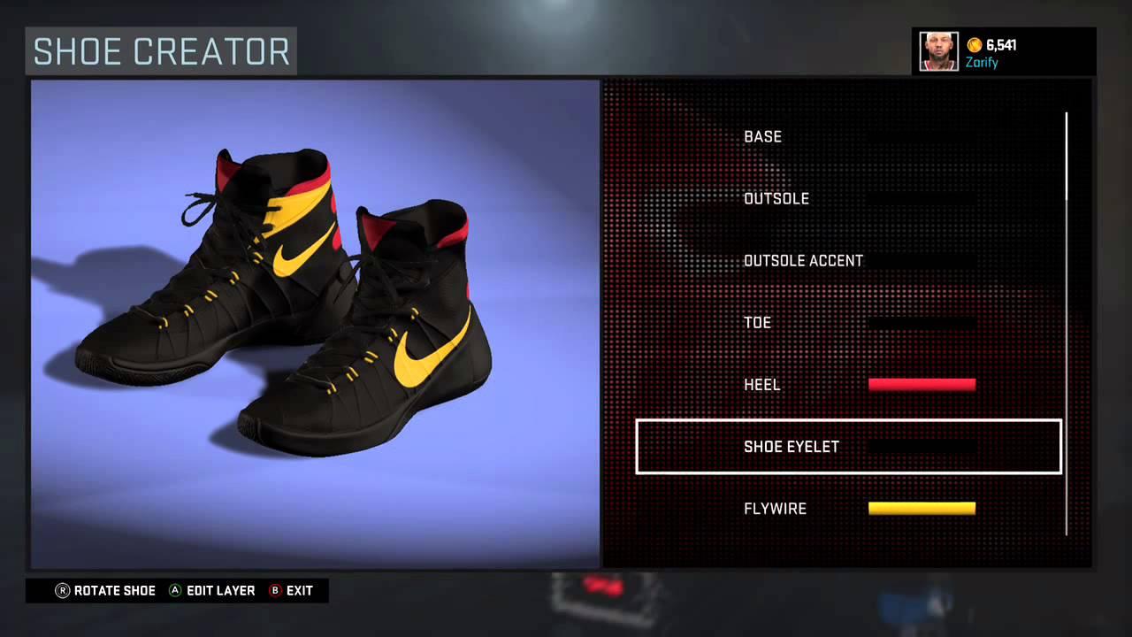 new style af61e 1dc6c NBA 2K16 Shoe Creator - Nike Hyperdunk 2015 Custom