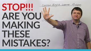 Don't make these mistakes in English! thumbnail