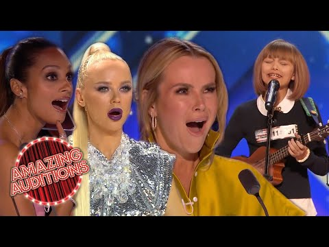 TOP 10 LITTLE Girls With BIG Voices SHOCK And STUN The World | Amazing Auditions