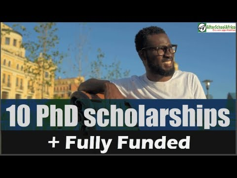 Top 10 PhD Scholarships For International Students