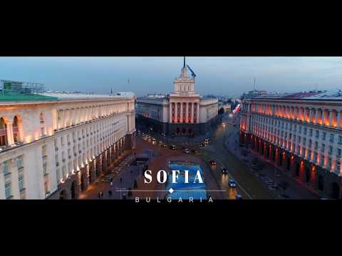 BULGARIA-SOFIA FROM ABOVE...