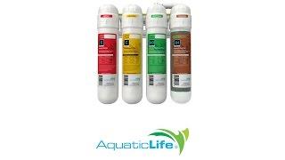 aquatic life 4 stage ro di twist in filtration unit installation
