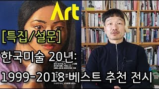 [특집/설문] 한국미술 20년: 1999-2018 베스…