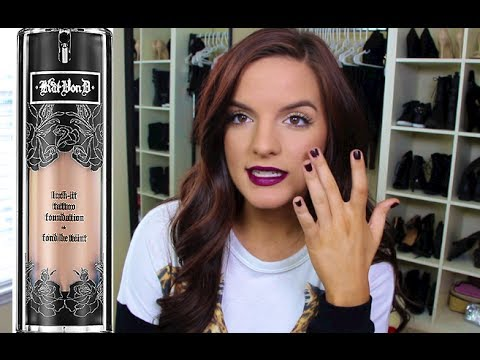Kat von d lock it tattoo foundation first impression f i for Tattoo foundation cover up