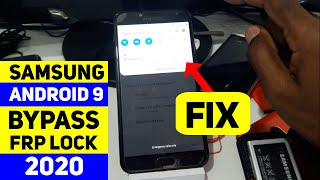 BOOM!! Samsung Android 9 2020 Security Frp Bypass