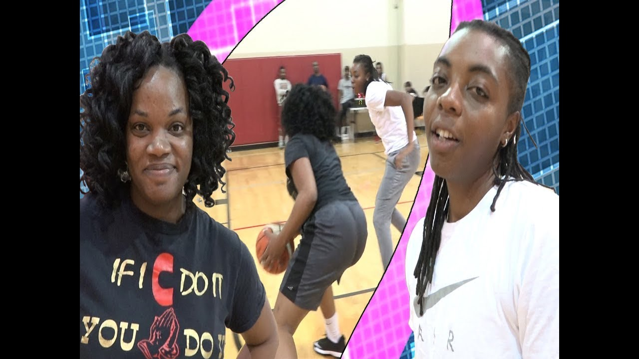 Queen K --vs-- C.C. [Women's 1v1 basketball]