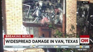 Deadly tornadoes rip through Texas, Arkansas