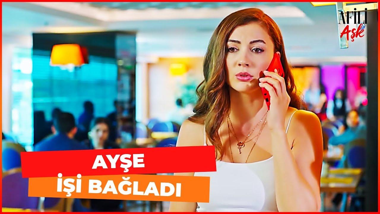 Afili Aşk 13. Bölüm Ayşe, Kerem'in İşini Bağladı
