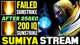 SUMIYA's Fail Sunstrike to 200IQ Sunstrike | Sumiya Invoker Stream Moment #1292