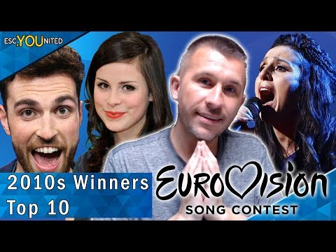 Eurovision 2010s Best Winners: Top 10 | With Reaction (2010 - 2019)