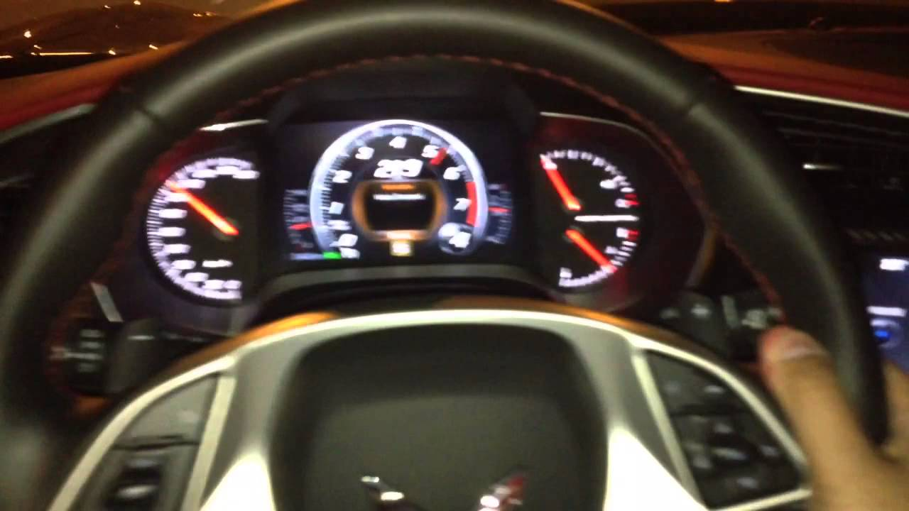 Corvette Stingray Top Speed >> Corvette C7 Stingray 2014 Top Speed Test Hd Youtube
