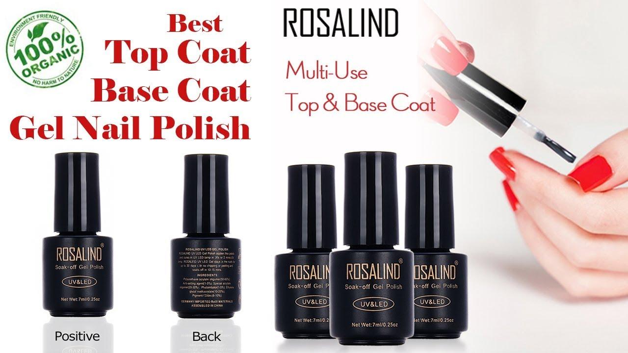 Best Gel Nail Polish with Top Coat Base Coat Gel   Best selling nail ...