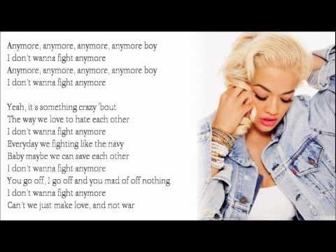 Rita Ora - Love And War ft. J.Cole (Lyrics)