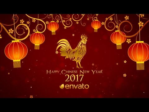 Chinese New Year Wishes | After Effects template - YouTube