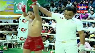 ភុន សោភ័ណ្ឌ Vs ឯក កៃឈៀង, SeaTV Boxing, 19/May/2018 | Khmer Boxing Highlights