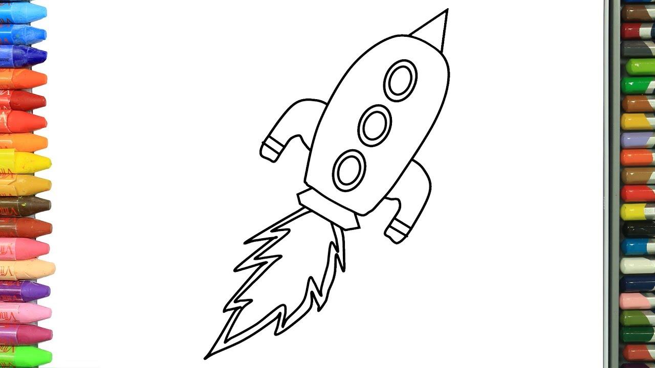 Roket Nasıl Yapılır Nasıl çizilir Boyama Ve Resim Yapma Videoları