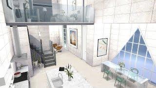 FANCY MODERN LOFT | The Sims 4 | Speed Build
