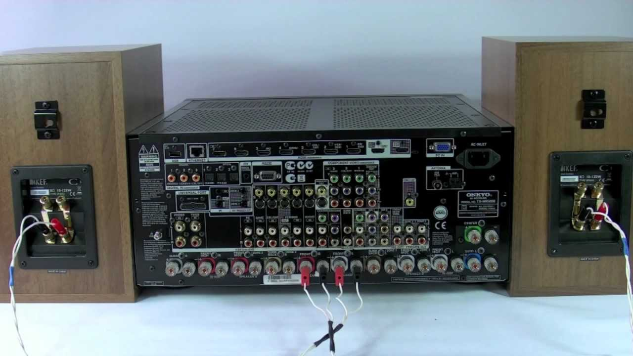 av receiver wiring diagram ford 4000 tractor starter Подключение акустики по схеме бивайринг и биампинг - youtube