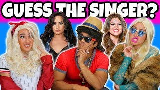 Guess the Singer Challenge by Their Voice (2018) Totally TV