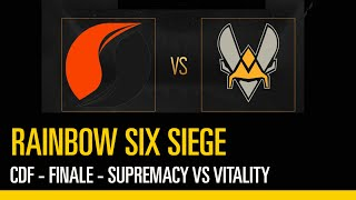 Rainbow Six Siege - Coupe de France - Finale : Supremacy VS Vitality (3/3)