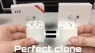 I12-Tws Vs Airpods - Perfect Clone