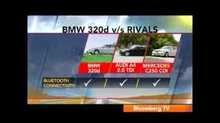 2012 BMW 3-Series Vs Audi A4 Vs Mercedes C-Class | Comparison Test | Autocar India