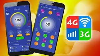 Wifi 5G 4G 3G Speed Test Speed Check Cleaner|Wifi 5G 4G 3G Booster|Diamond Studio screenshot 1