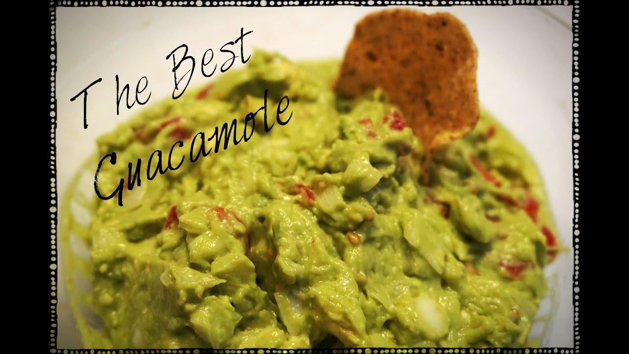 Easy recipes for guacamole
